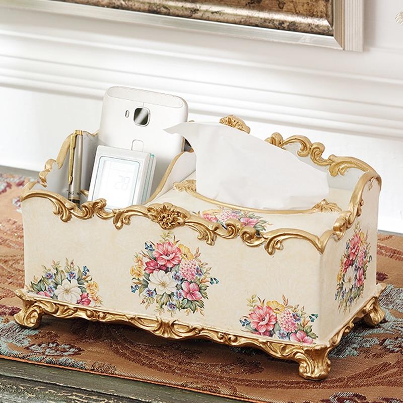 European box pumping multi function remote control mobile phone box Home Furnishing accessories decorative box