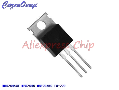 1pcs/lot <font><b>MBR2045CT</b></font> MBR2045 MBR2045C Schottky & Rectifiers 20A 45V TO-220 new original In Stock image
