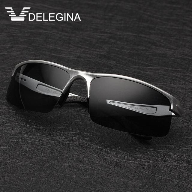 2016 Mens Moda de Luxo Polarizada Óculos De Sol Para homens Marca Designer óculos Shades solar