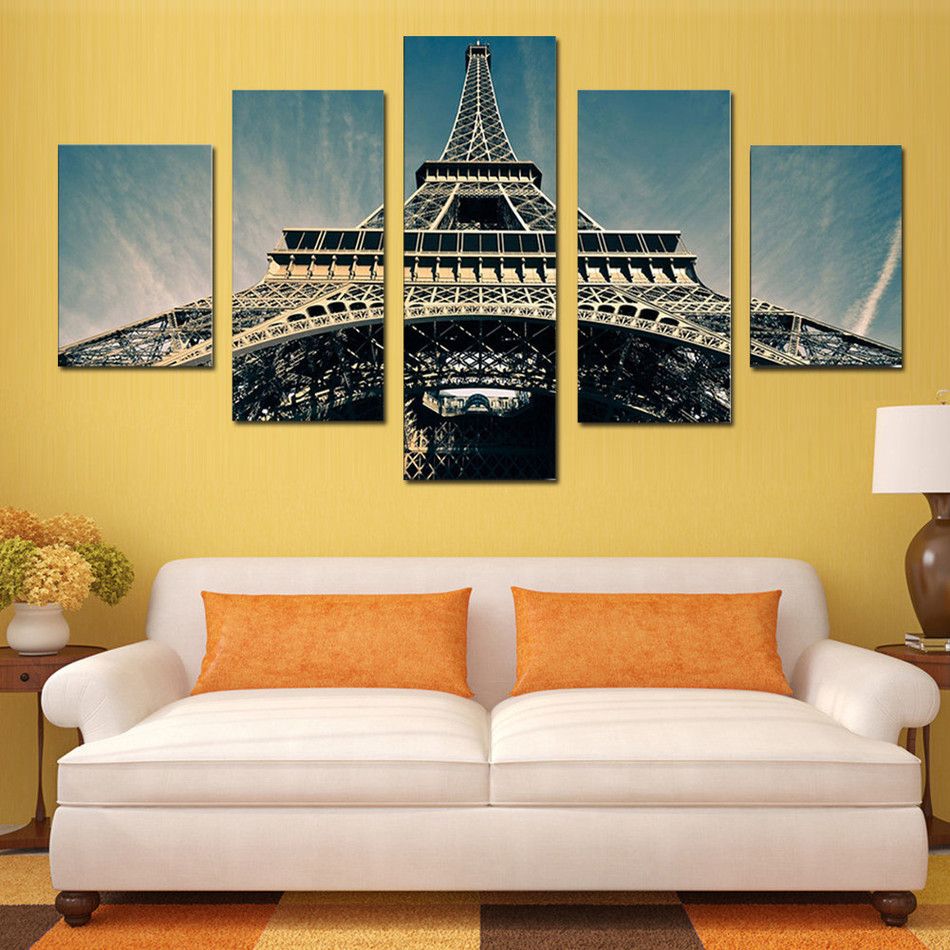 Online Shop 5 Pieces Canvas Art Canvas Paintings The Prisoner Of ...