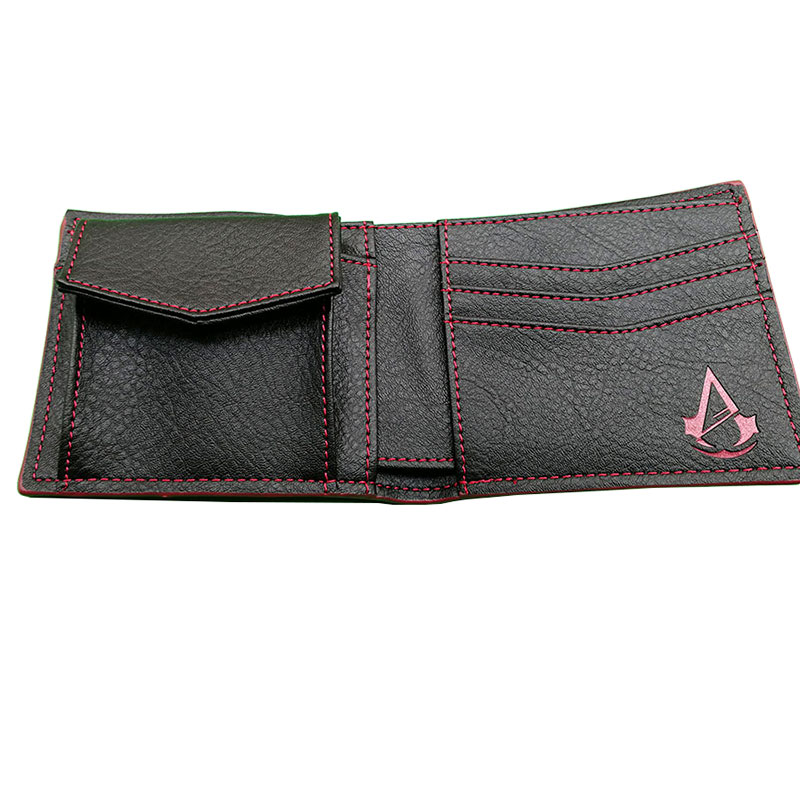 wallet leather men wallet Assassins Creed 4 : Game Assassins Creed Wallet Wallet