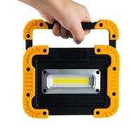 10W LED USB Floodlight COB Work Light lantern 750LM 4400mAh USB Power Camping lamp Spotlight Searchlight