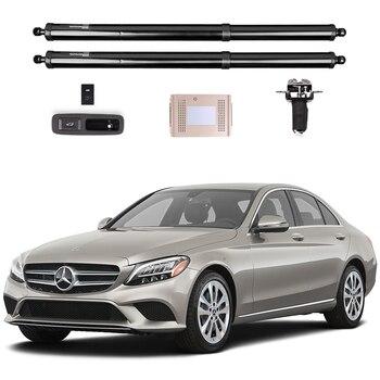 Для Mercedes Benz c class W205 электрическая задняя дверь, датчик ноги, автоматическая задняя дверь, модификация багажа, автомобильные принадлежности