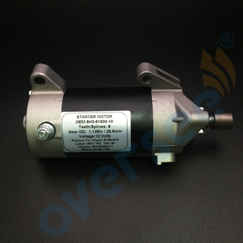 Fit YAMAHA MARINE OUTBOARD STARTER 70TRX 70HP 1999 6H3-81800-10 6H3-81800-11 6H3-81800-00