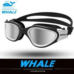 Image 2 - Water Glasses Professional Swimming Goggles Adults Waterproof Swim Uv Anti Fog Adjustable Glasses Oculos Espelhado Pool Glasses