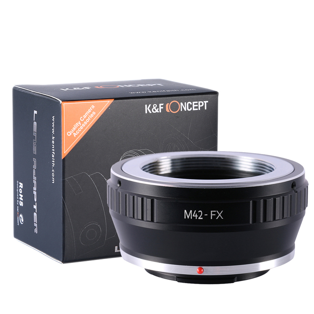 M42-FX Lens Adapter Ring Fit For M42 Mount Lens For Fujifilm X Mount Fuji X-Pro1 X-M1 X-E1 X-E2 M42 X-T1 Camera Adapter Ring