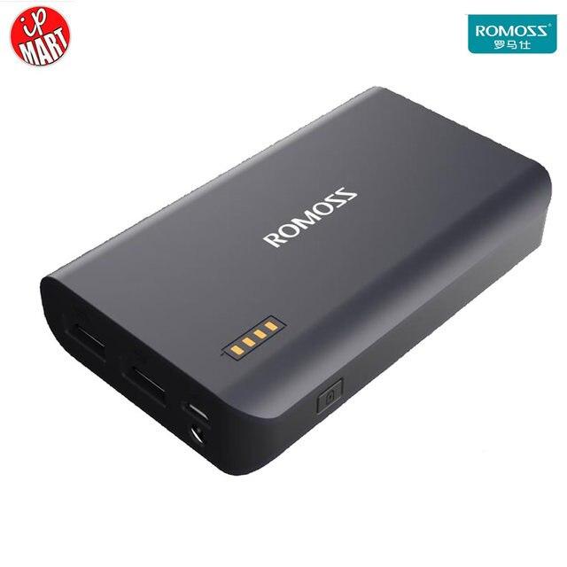 Romoss SenseX 10000 мАч Смысл Х Power Bank Банк Силы Быстрого Заряда КК 2.0 Portable Power Dual USB Выход для Всех Телефонов Tablet ПК