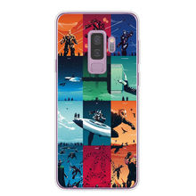 Marvel Avengers Heros Comics Collage Phone Case For Samsung Galaxy S6 S7 Edge S8 S9 Plus A7 A6 A8 Plus 2018 Soft Silicone Cover
