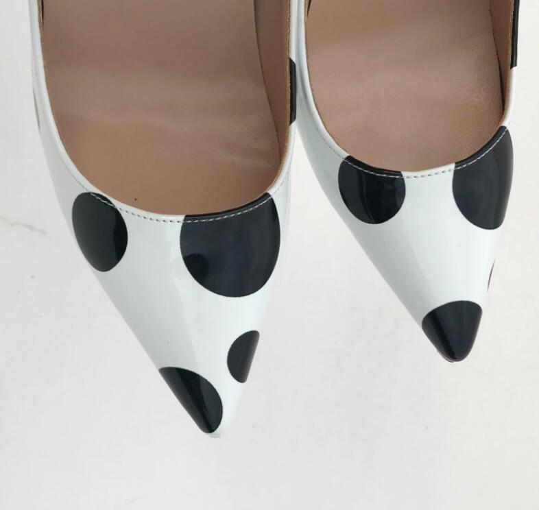 Partie Femmes Hauts En Verni Pompes Sexy Nouveau Bureau Blanc Wonen Talons Mariage 8cm 12cm Chaussures 10cm Cuir Mode Vinapobo De 0OPX8nkw