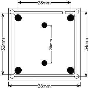 """Image 3 - Módulo de câmera cctv 1/2. 9 """"cmos 1080 p mis2003 hd 200 megapixel placa para XVI AHD, cvi, tvi, cvbs 1200tvl câmera diy preço por atacado"""