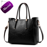 Aliwood 2017 Large Capacity Classic Women Bag Simple Vintage Handbags Retro Tote Female Shoulder Bags Sweet