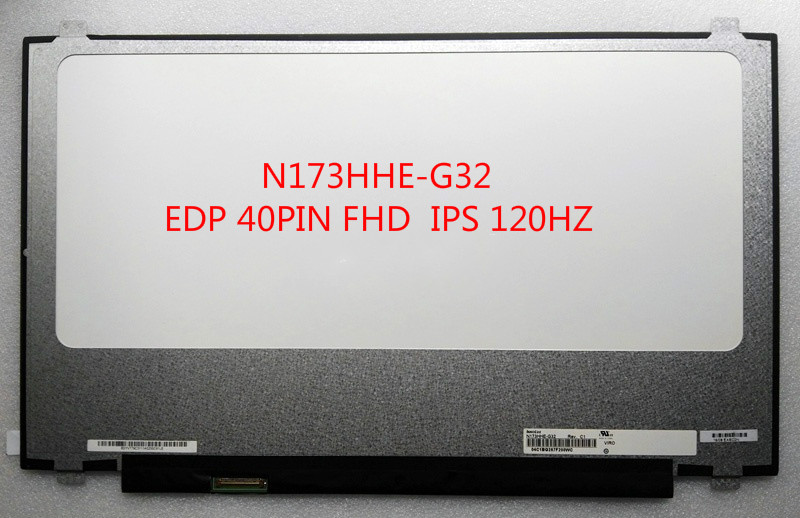 """New for N173HHE-G32 REV.C1 120Hz FHD LCD Screen LED for Laptop 17.3/""""  Display"""