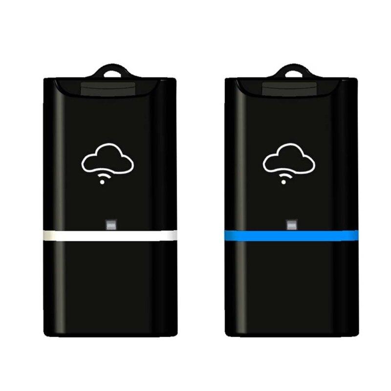 1 unid USB inalámbrico WiFi Almacenamiento Flash TF Micro lector de tarjetas SD para iOS Windows Android alta velocidad