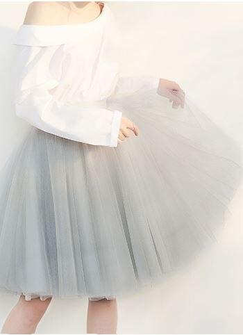 Moelleux Pour Jupe Danse Beige Femme Solide Filles Partie Pettiskirt Tulle Extra Femmes pink De Princesse D'été Ballet Doux Tutu gray Belle 7Z7qIg