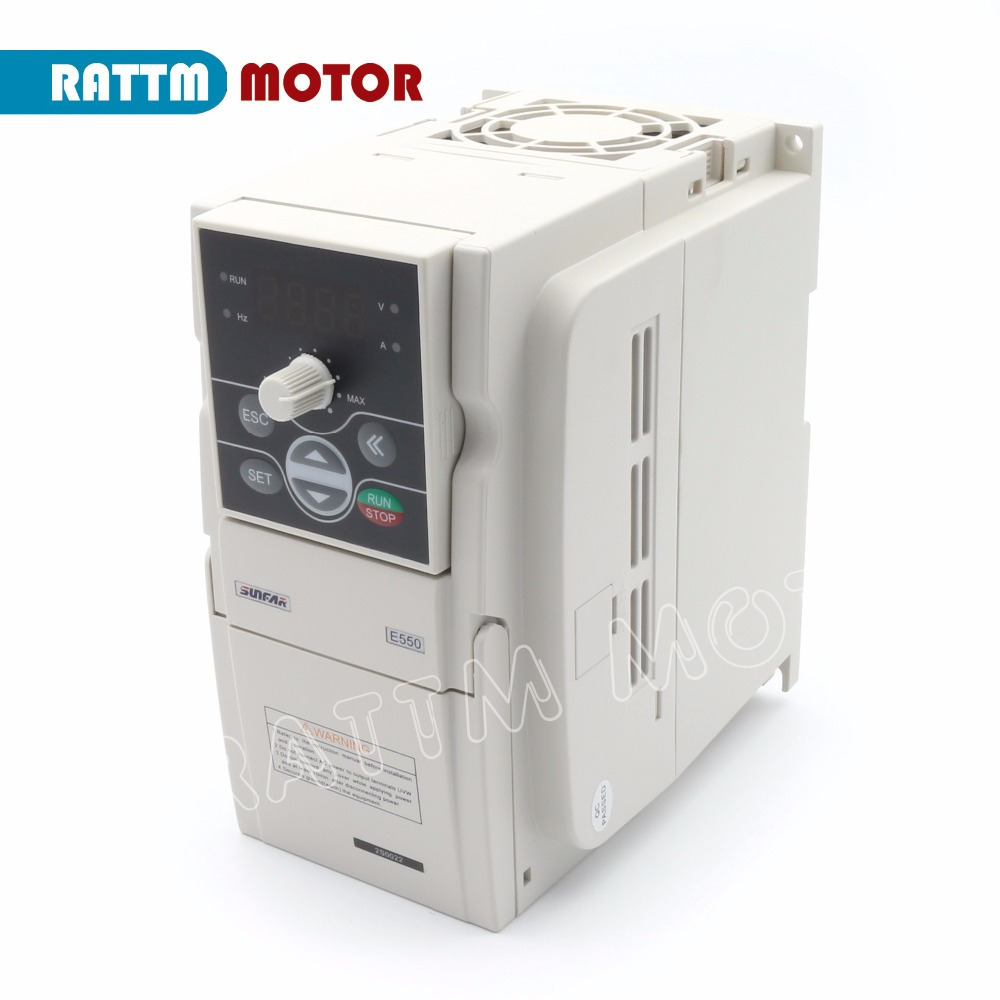 SUNFAR Inverter VFD 2.2KW 220V E550-2S0022 Frequency Inverter 1000HZ Variable-frequency drive