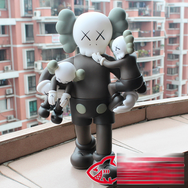 16 inches OriginalFake KAWS CLEAN SLATE With Baby Brown Color In Original Box 40cm H clean slate