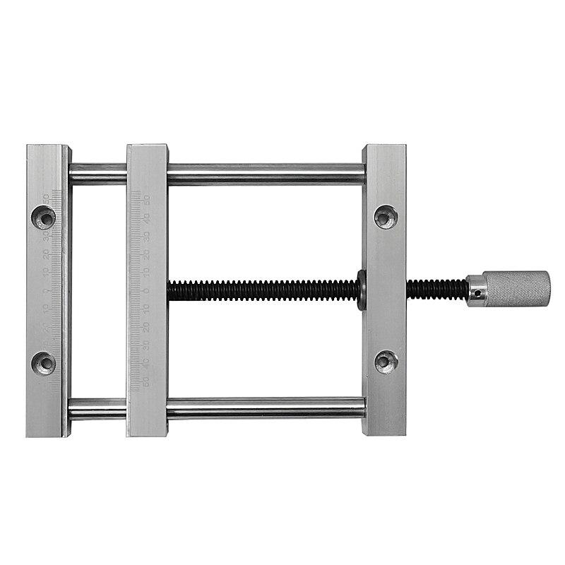 CNC pièces de fraisage machine plat pinces manumotive 140mm vis précision parallèle mâchoire vice pour cnc routeur cnc outil