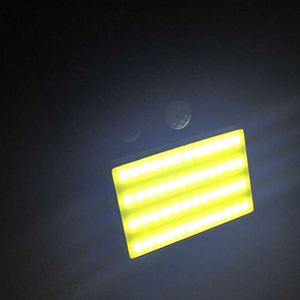 48 Светодиодный светильник на солнечной батарее инфракрасный PIR датчик движения настенный светильник безопасности Наружное освещение садовый настенный забор лампа на солнечных батареях