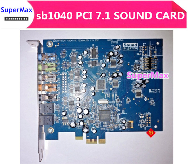Creative Sound Blaster X-Fi Xtreme Audio PCI Express Card Audio Descargar Controlador