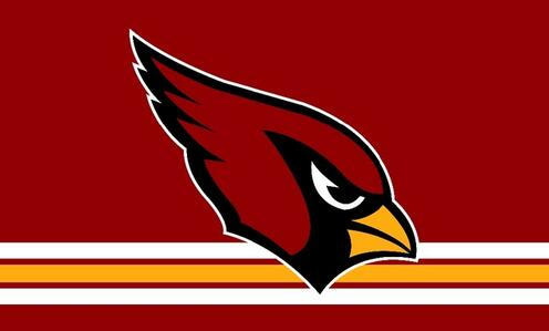 Arizona Cardinals flag 3x5ft polyester digital printing banner with 2 Metal Grommets 100D free shipping