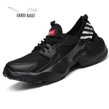 Men Running Shoes Sneakers Platform Breathable Mesh Sports Walking Outdoor Comfortable Lace-Up Sport Sneskers кроссовки недорого