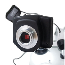 5.0MP Wireless HD Digital Eyepiece Camera for Microscopes w/ C Mount Camera Adapter for Microscope Picture Video Saving