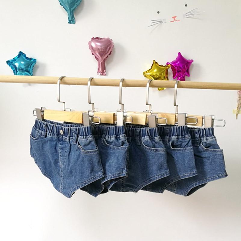 2018 Hot pants jean shorts meisjes versie van de zomer kinderkleding - Kinderkleding - Foto 4