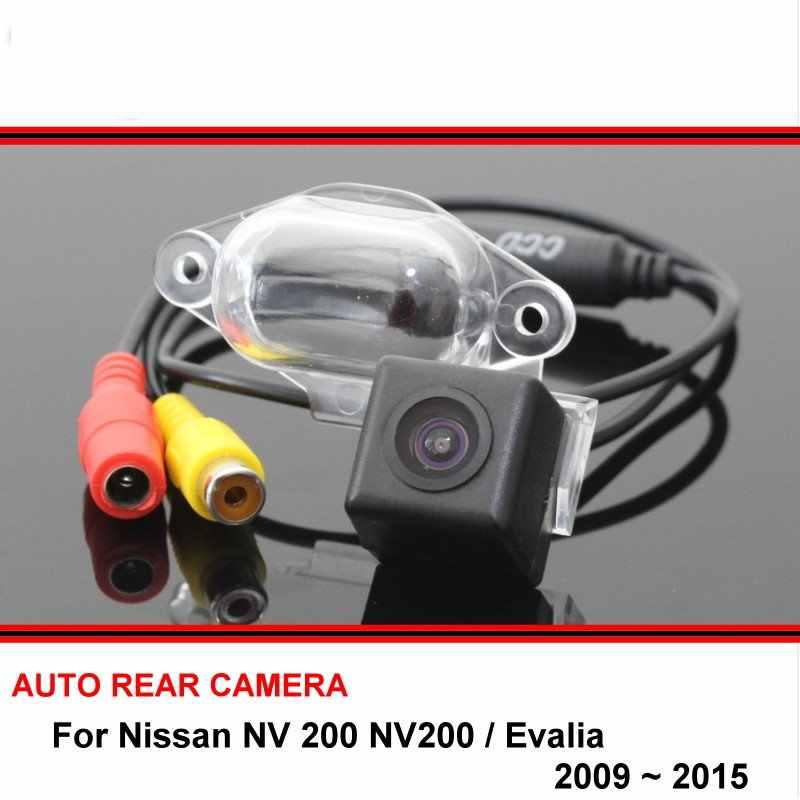 Dành cho Xe Nissan NV 200 NV200/Evalia 2009 ~ 2015 Nhìn Xuyên Đêm Chống Nước Lùi Xe Dự Phòng Chiếu Hậu Đậu Xe Phía sau camera HD CCD