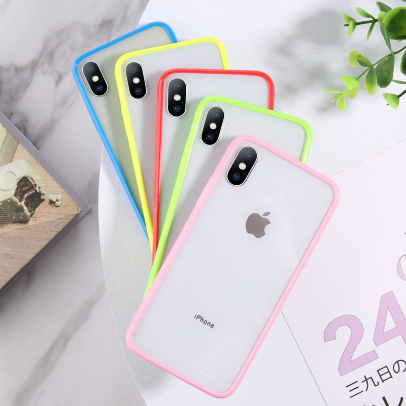 Lovebay transparent shockproof phone case for iphone 11 pro max x xr xs max soft tpu simple clear cover for iphone 6 6s 7 8 plus
