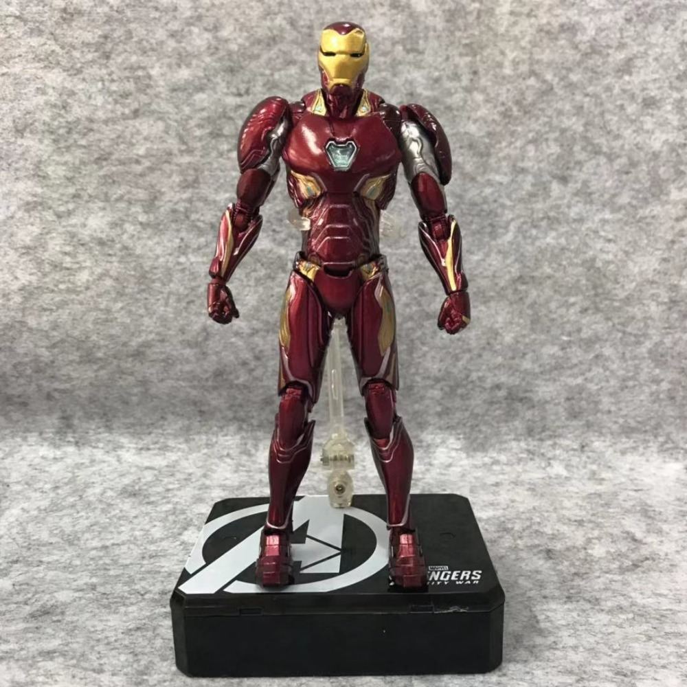 6.3The Avengers : Infinity War SHF MK50 Iron Man/Tony Stark Red Sneak Deluxe Edition Action Figure Model Toy Box 16cm N6946.3The Avengers : Infinity War SHF MK50 Iron Man/Tony Stark Red Sneak Deluxe Edition Action Figure Model Toy Box 16cm N694