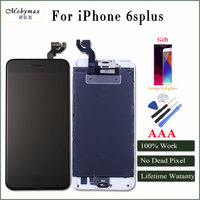 Mobymax Camera Home Button Black White LCD Touch Screen Digitizer Assembly Display For IPhone 5 5C