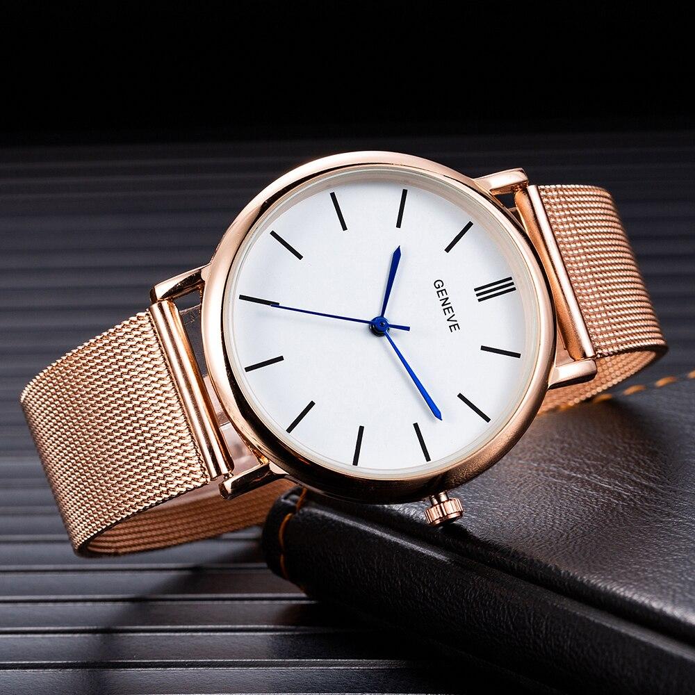 Brand Women Watch Stainless Steel Band Quartz Wristwatch Modern Clock Casual Watch Business Hodinky Montre Femme Zegarek Damski