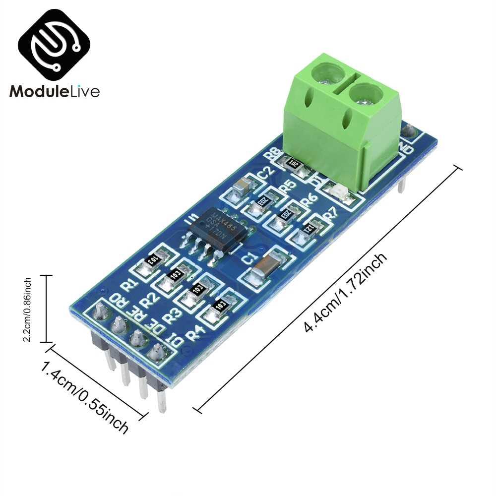 MAX485 RS-485 MAX485CSA TTL Lần Lượt Để RS485 Chuyển Đổi Mô-đun Board Cho Arduino Vi Điều Khiển MCU Phát Triển Phụ Kiện