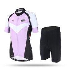 Riding a short 2017 new summer short sleeve women bike Sportswear