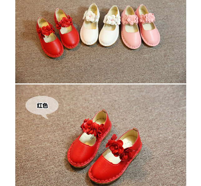 Musim panas Gadis Sandalias Floral Chaussure Fille Putri Anak Sepatu Gaya Gadis Sandal Sepatu Balita Lembut Bawah Gadis Sandalias