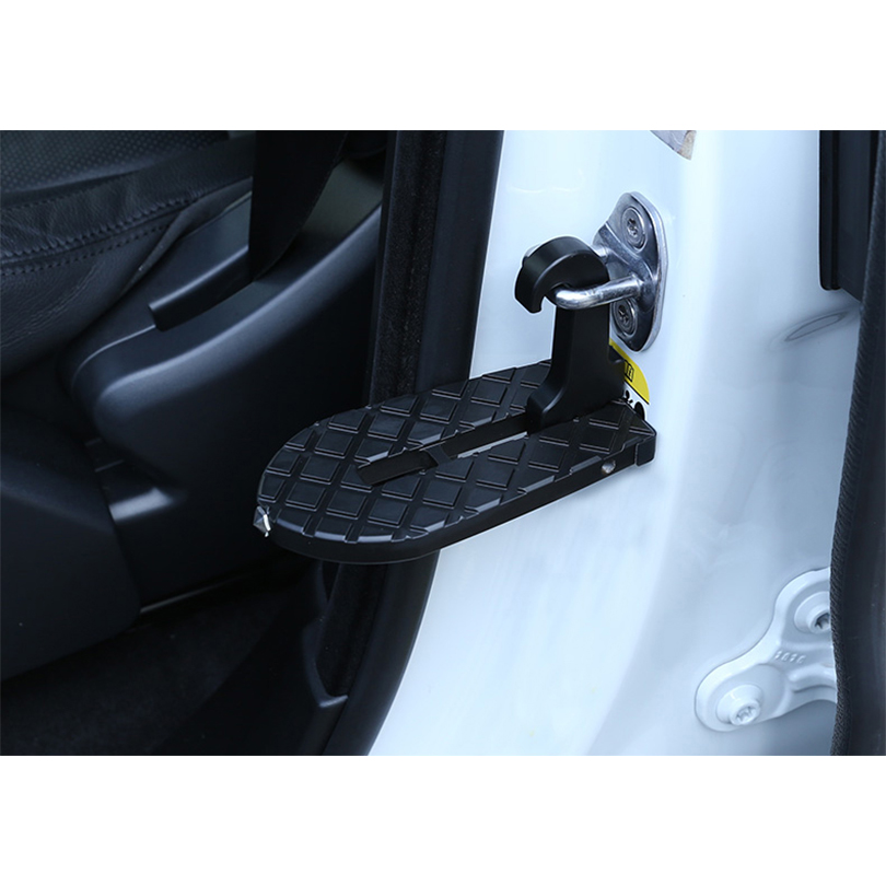 New Arrival General Climbing Car Top Car Door Lock Foot Pedal Folding Window Break Escaper Multifunctional Door Lock Pedal