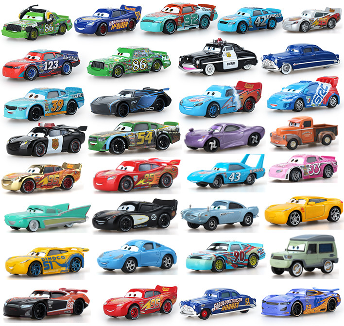 Disney Birthday Party Pixar 33 Style For Mcqueen Mack Truck The 1:55 Diecast Metal Alloy Modle Figures Toys Gifts Time Limited