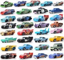Disney, festa de aniversário pixar 33 estilo para mcqueen mack caminhão, o 1:55 diecast, liga de metal, modelo, figuras, brinquedos, presentes, tempo limitado