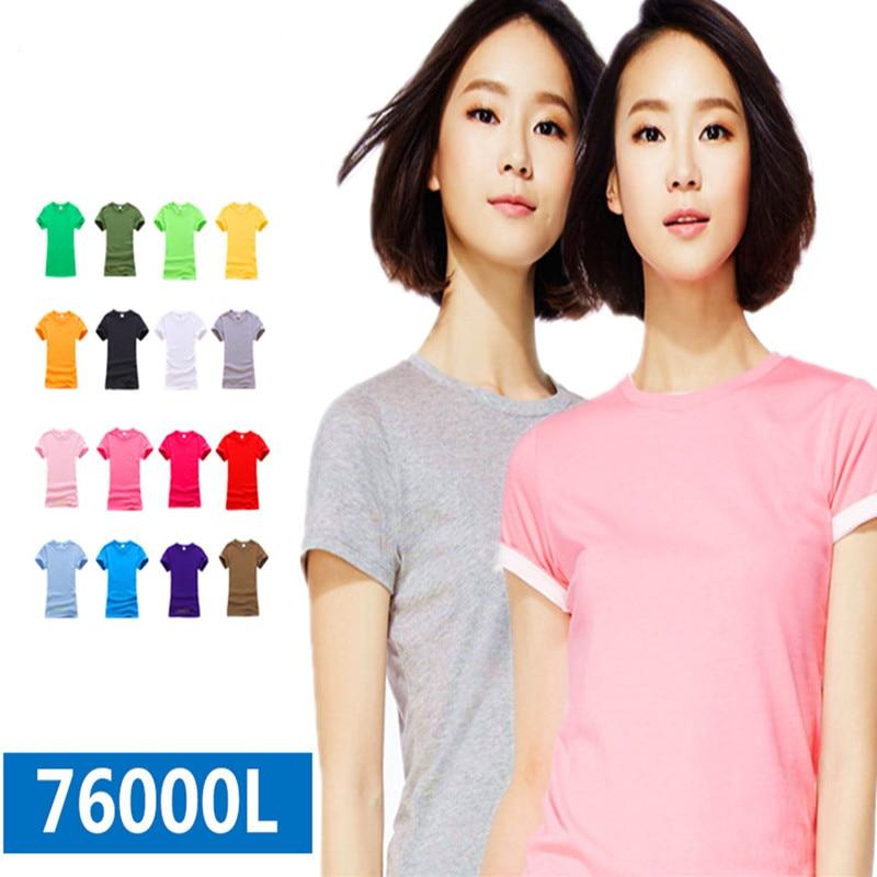 T Shirts Fashion 2018 Crew Neck Women Short-Sleeve Kiss Hotter Than Hell Printing Shirt