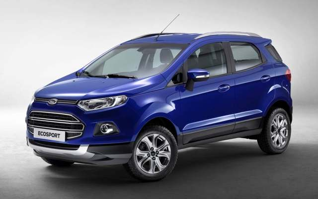 For Ford Ecosport Accessories Chrome Door Handle Cover Bowl Suitable Ford Ecosport  Car Styling Parts