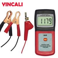 Auto Fuel Injector Injection Pump Pressure Tester Car Testing Consumption  Gauge Test Diagnostic Tools