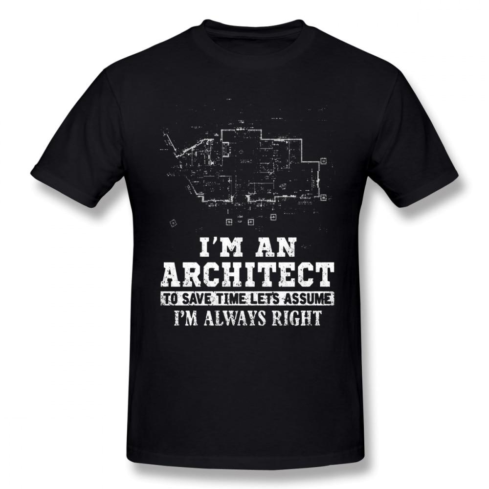Architekten T Hemd Architekten ICH M Ein Architekten, Sparen Zeit T-Shirt Ehrfürchtig Gedruckt T Hemd 100 Baumwolle Mann 6xl t-shirt