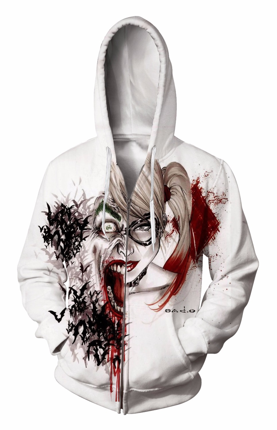 Zip-Up Hoodie 3d Print Soft characte Clothing Women Men Tops Hooded Casual Zipper Sweatshirt Outfits Coats Sweat factory outlet