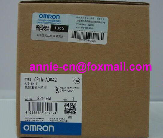 100% New and original  CP1W-AD042  OMRON PLC CONTROLLER  Analog input unit cp1w 16er new and original omron plc controller plc module