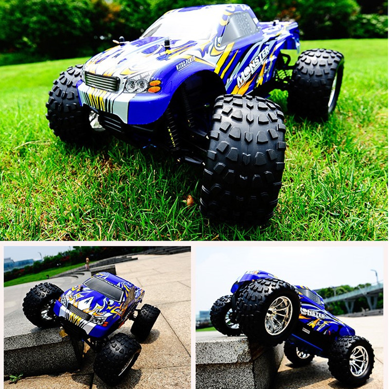 HSP Rc Car 1/10 Scale Models Nitro Gas Power Off Road Monster Truck 94188 Kids Toys 4wd High Speed Hobby Remote Control Car 02023 clutch bell double gears 19t 24t for rc hsp 1 10th 4wd on road off road car truck silver