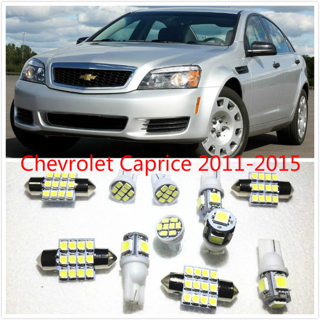 Chevrolet Avalanche 2016 >> 11 Set White Led Lights Interior Package Map Dome For Chevrolet