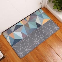 2017 New Fashion Style Creative Rugs Washable Modren Geometry Carpet Mats Bedroom Non-Slip Floor Mats Area rug for living room