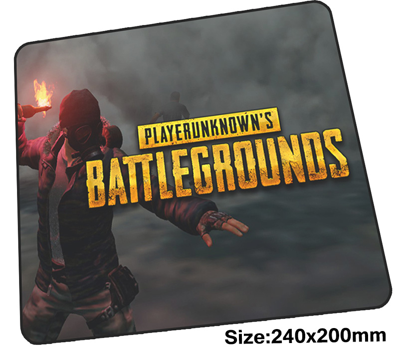 playerunknowns battlegrounds mouse pad 240x200x3mm mousepads gaming mousepad gamer Professional personalized mouse pads pc pad