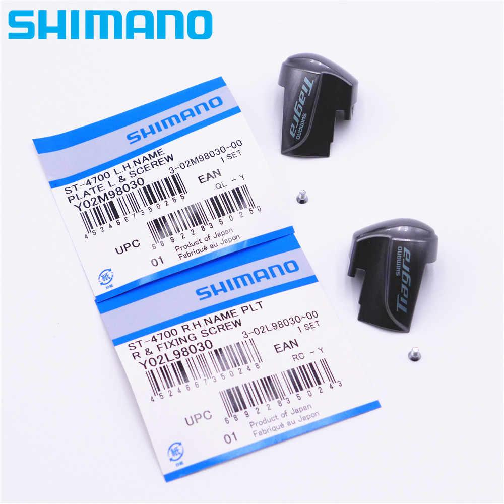 Shimano soporte para nombres escudo izquierda con tornillos st-6700 y-6sc98060