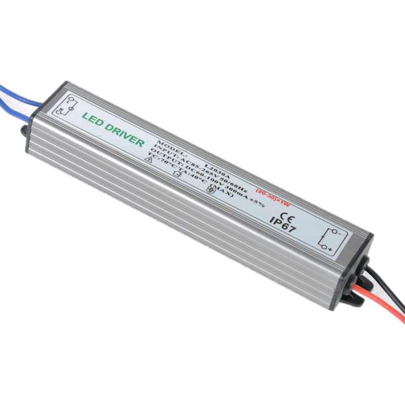 PHISCALE 20-30W LED Driver Power Supply Waterproof IP67 Constant Current AC100-260V 300mA For 20-30W LED Bulb 70w led driver dc54v 1 5a high power led driver for flood light street light constant current drive power supply ip65
